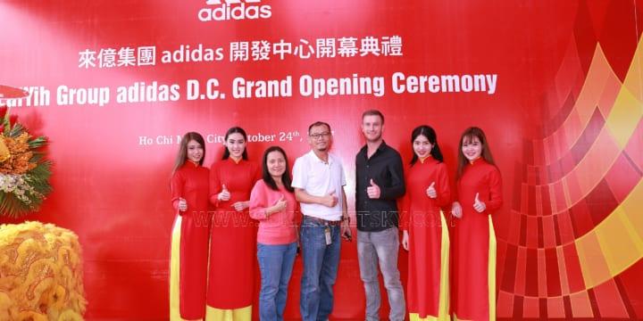 Công ty tổ chức lễ khai trương chuyên nghiệp tại Hcm I Khai Trương ADIDAS