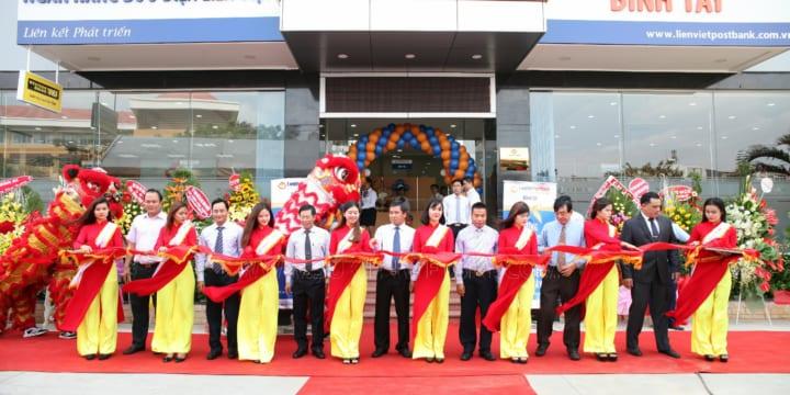 Tổ chức lễ khai trương giá rẻ tại Đồng Nai I Bưu Điện Ngân Hàng Liên Việt