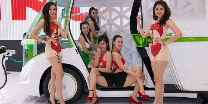 Dịch vụ cung cấp mẫu ảnh xe hơi, MotoShow tại HCM, Hà Nội