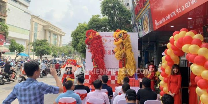 Công ty tổ chức lễ khai trương, khánh thành tại Thanh Hóa