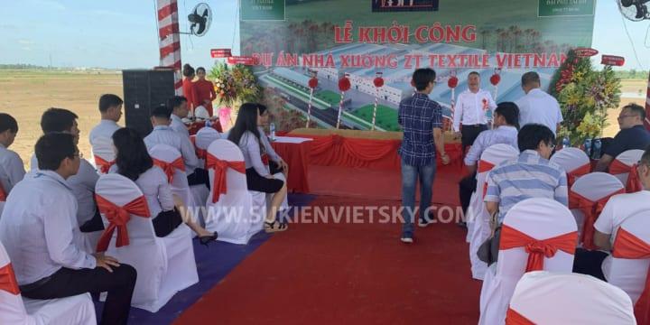 Công ty tổ chức lễ khởi công giá rẻ tại KCN Bình Tân, Vĩnh Long