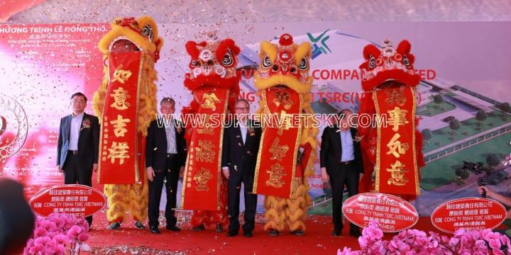 Công ty tổ chức lễ khởi công giá rẻ tại KCN Sông Lô, Vĩnh Phúc