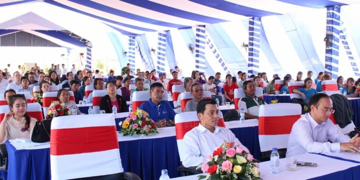 Công ty tổ chức lễ khởi công giá rẻ tại KCN Sơn Lôi, Vĩnh Phúc