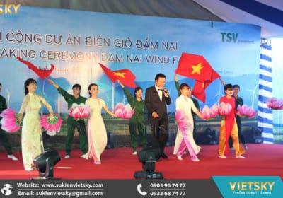 Công ty tổ chức lễ khởi công giá rẻ tại KCN Vĩnh Tường, Vĩnh Phúc
