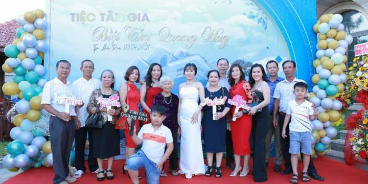 Công ty tổ chức lễ tân gia tại Bắc Giang